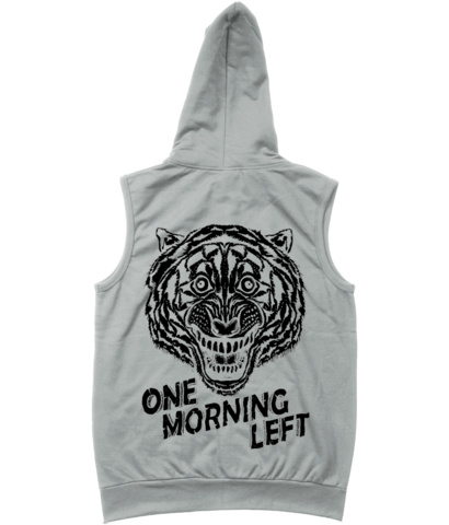 One Morning Left - Tiger - Sleveless Zipper Hoodie