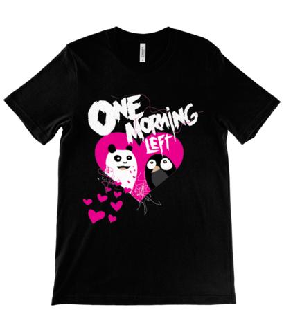 One Morning Left - Panda ❤️ Penguin - T-Shirt