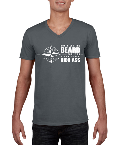 Don't Let the Beard Fool You - T-Shirt