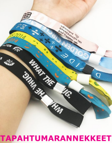 Wristbands, Passes and Banners