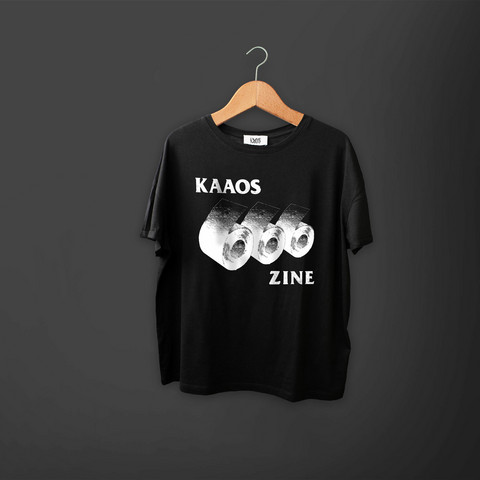 Kaaoszine - 666 - T-Shirt  (On pre-order until 12.4.)