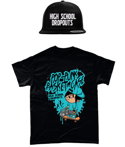 High School Dropouts - T-Paita + Snapback - bundle
