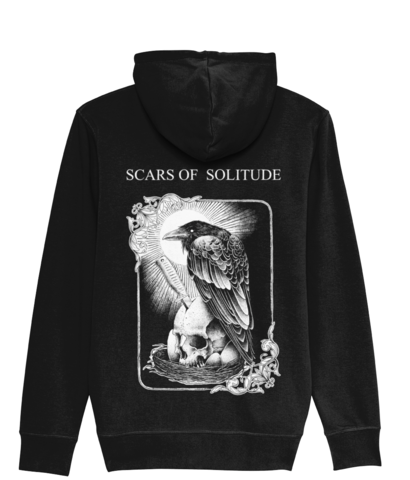 Scars of Solitude - Zipper Hoodie