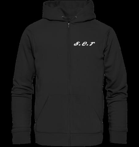 s.e.r - zipper hoodie