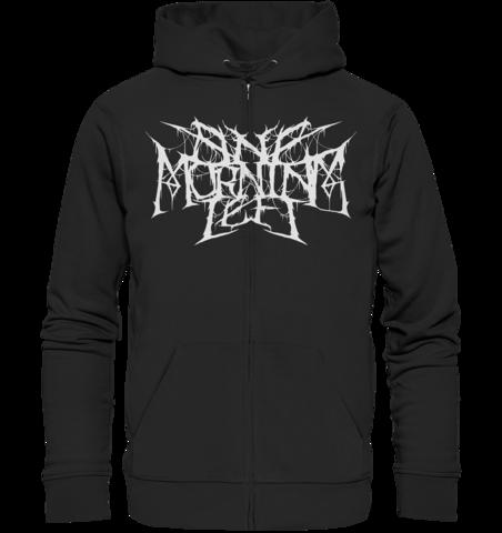 One Morning Left - Black Metal Sloth - Zipper Hoodie