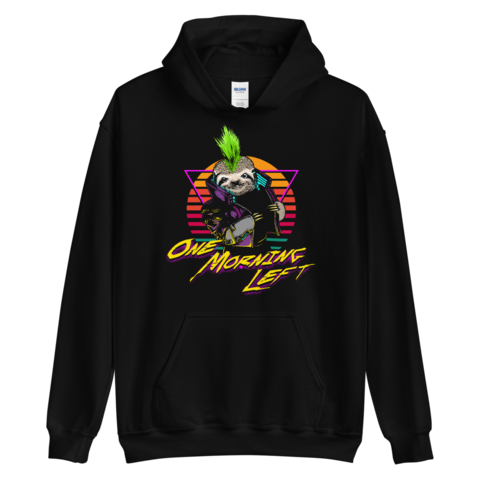 One Morning Left - Cyber Sloth - College Hoodie