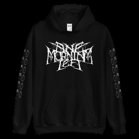 One Morning Left - Black Metal Sloth- College Hoodie