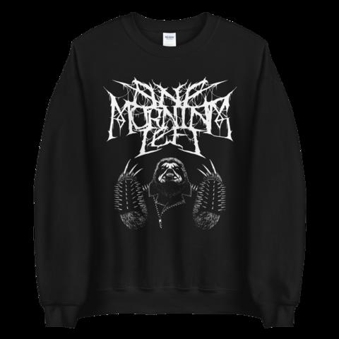 One Morning Left - Black Metal Sloth - Sweatshirt