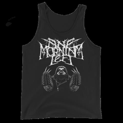 One Morning Left - Black Metal Sloth - Tank Top