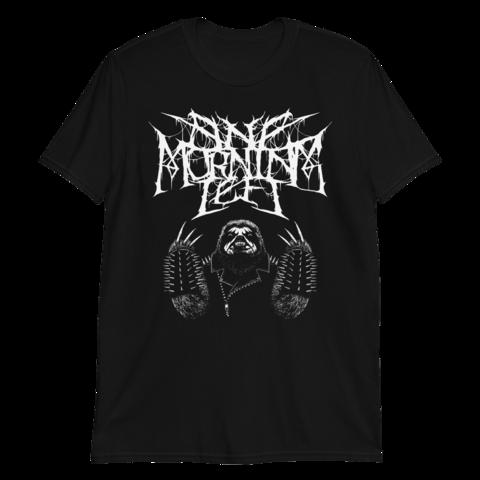 One Morning Left - Black Metal Sloth - T-Shirt