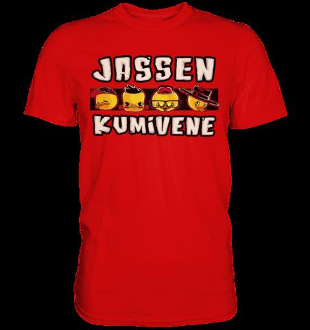Jassen Kumivene - 4 Ankkaa - T-Shirt