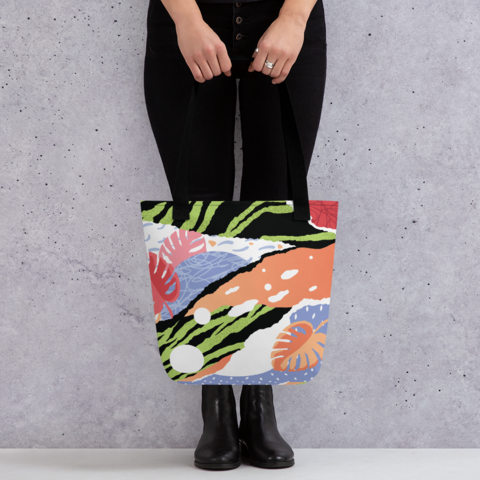 Tote Bags - All Over Printed Collection - 100 pcs