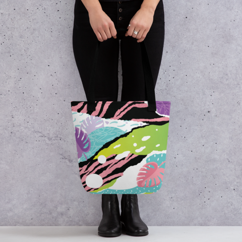 Tote Bags - All Over Printed Collection - 50 pcs