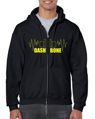 Dashbone - Pulse - Zipper Hoodie