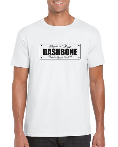 Dashbone - License Plate - T-Shirt
