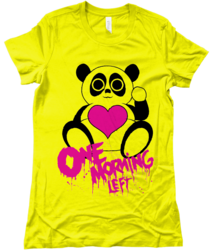 One Morning Left - Panda - T-Shirt
