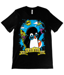 One Morning Left - Penguin - T-Paita