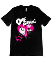 One Morning Left - Panda ❤️ Penguin - T-Shirt