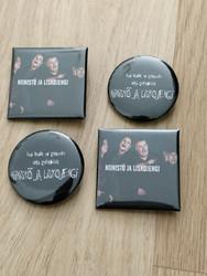 Niinistö ja Liskojengi - Pins - 4-pack.