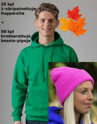 Hupparit + Pipot - bundle