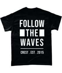 Crest - Follow The Waves - T-Paita