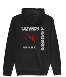 Wizards of Hazard - End of Time - Zipper Hoodie
