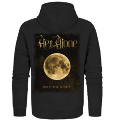 Her Alone - Into The Night - Zipper Hoodie