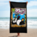 One Morning Left - Beach Panda- Beach Towel