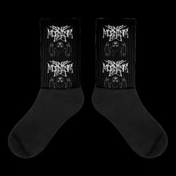 One Morning Left - Black Metal Sloth - Socks