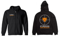 Erakossa - Aim At The Heart - Zipper Hoodie (2-colored)