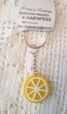 Sitruuna avaimenperä