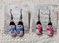 Lumiukkokorvakorut