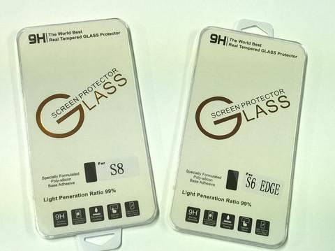 Samsung S8 ja S6 näytön kalvoja 8 kpl a,0,90€ kpl