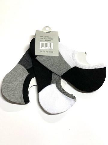 Miesten matalavarsi sukka puuvilla 24 paria 0,39€ pari
