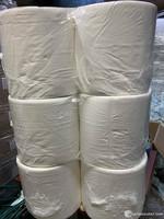 Valkoista teollisuuspyyhepaperia  6 rullaa 2,49€ rulla