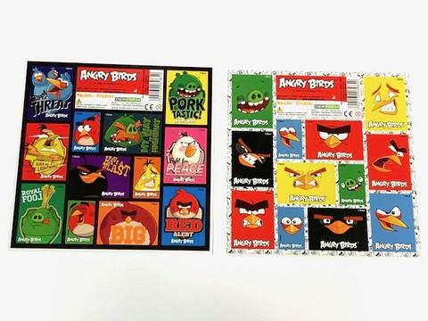 Angry Birds tarra 25kpl 0,25€ kpl