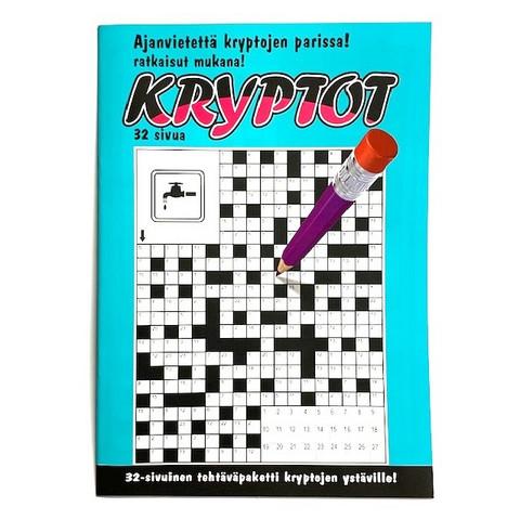 Kryptolehti Turkoosi 10 kpl 0,75€ kpl (Ovh hinta 2,90€)