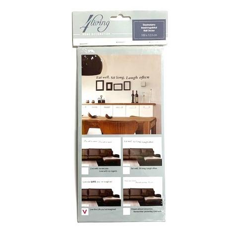 Seinätarra lajitelma 12 kpl 0,59€ kpl