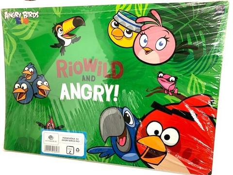 Kirjoitinalusta Angry Birds 6kpl 0,49€ kpl