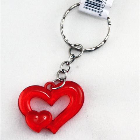 Avaimenperä Sydän 100kpl 0,16€ kpl