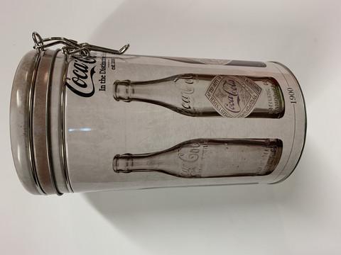 Coca-cola kahvipurkkeja II laatua  30 kpl 0,90€ kpl