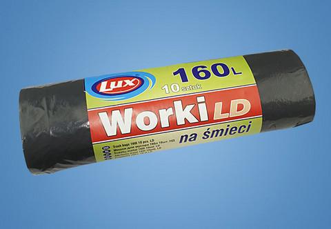 Jätesäkki 160L/10kpl/rulla 10 rullaa 1,29€ rulla
