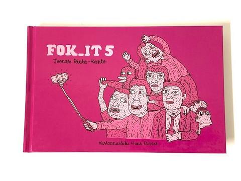 Vitsikirjoja Fok.It.5 24 kpl 0,40€ kpl