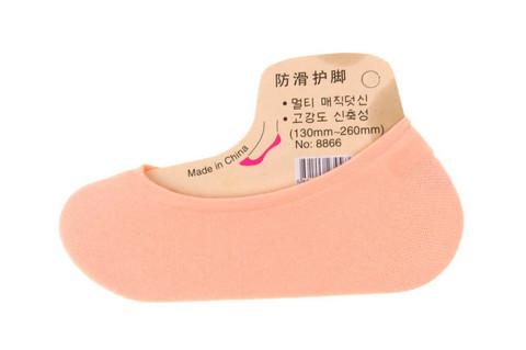 Naisten avokas sukka vaalea-bees 20 paria 0,25€ pari *