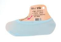 Naisten avokas sukka vaalean sininen 20 paria 0,25€ pari *