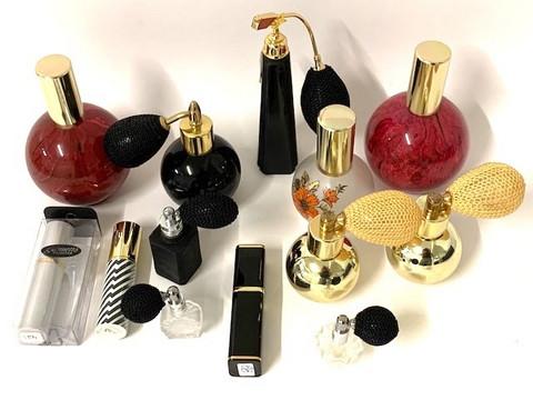 Parfyymi pulloja 29 kpl 0,50€ kpl Alehinta 0,25€ kpl