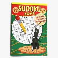 Sudoku Zone nr 2  10 kpl 0,75€ kpl (Ovh hinta 3,20€)