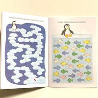 Lasten puuha ja tehtäväkirja Pingviini 10 kpl 0,75€ kpl (ovh hinta 2,60€)