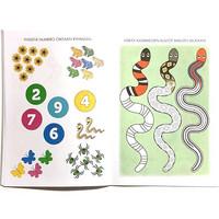 Lasten puuha ja tehtäväkirja Käärme 10 kpl 0,75€ kpl (ovh hinta 2,60€)