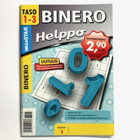 Binero tehtäväkirja 10 kpl 0,75€ kpl (ovh hinta 2,90€)